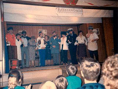 Revy byttecentralen 1986